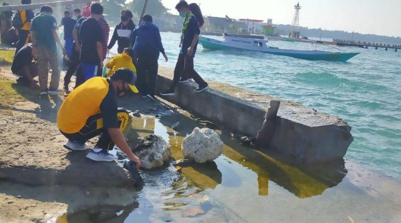 Kapolres Majene Ajak Siswa Peduli Lingkungan