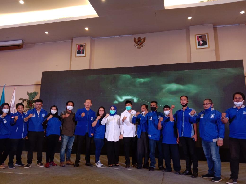 Rekomendasi DPP PAN ke Petahana,Semua Kader Kabupaten Mamuju Pilih Tina-Ado