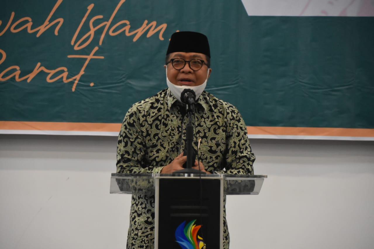 IDRIS ; Organisasi Muhammadiyah Sejalan Dengan Pemerintah