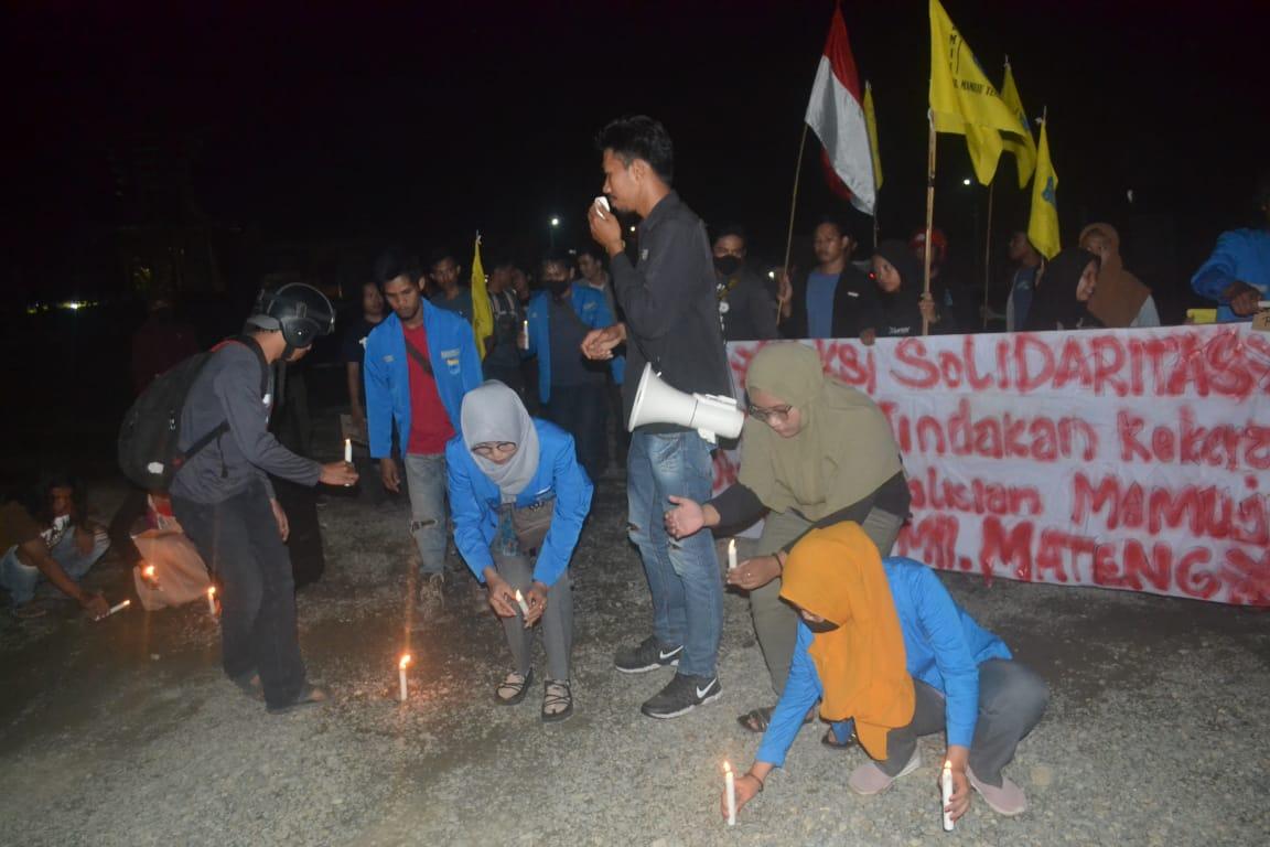 PMII Mateng Kecam Tindakan Pihak Kepolisian Terhadap Mahasiswa Saat Demo HUT RI