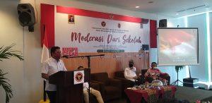 Kumpulkan Pendidik, BNPT-FKPT Sulbar Gelar Moderasi dari Sekolah
