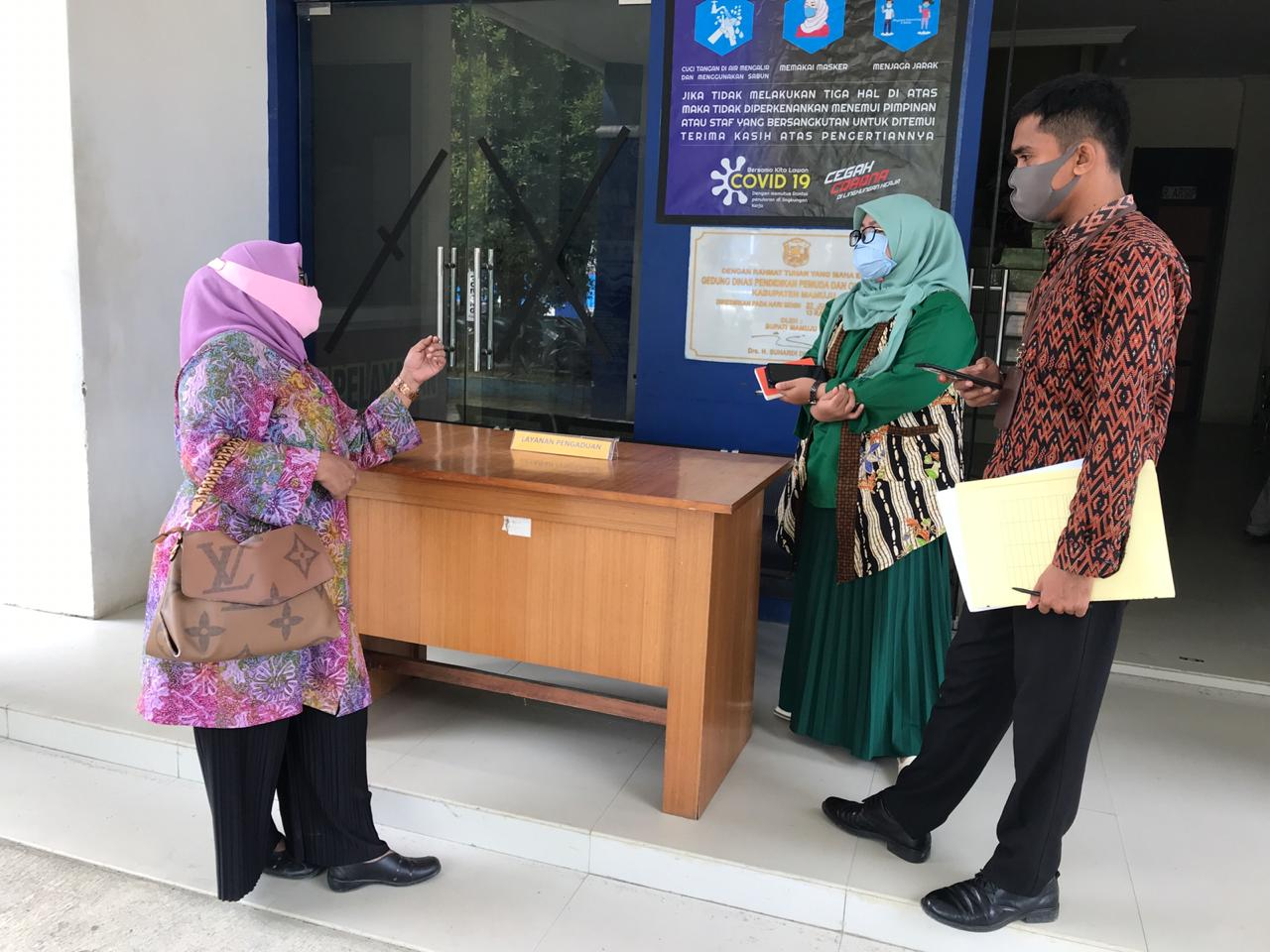 Keluhan Warga Terkait Layanan di SDN Salu Biru yang dilapor ke Ombudsman, Membuahkan Hasil