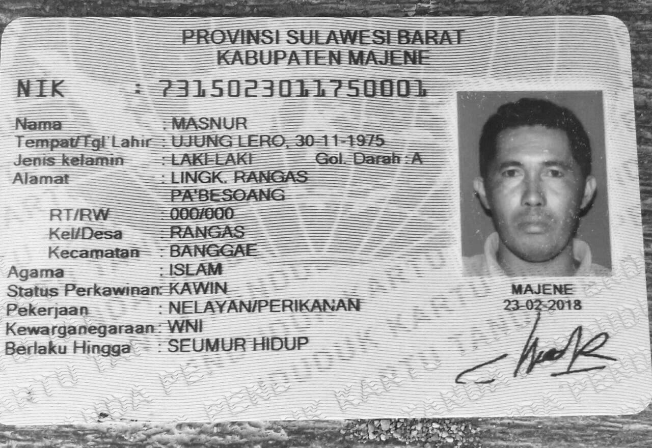 Seorang Nelayan di Majene Dilaporkan Hilang Saat Melaut