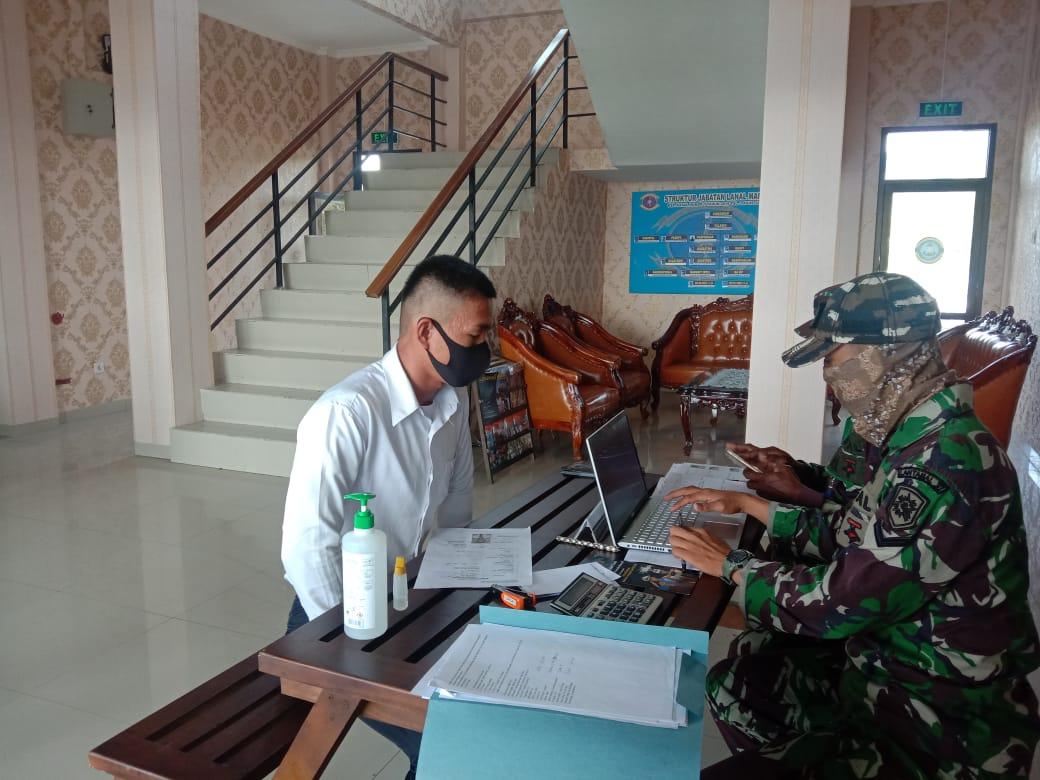 Puluhan Pendaftar PK TNI AL Tervalidasi di Lanal Mamuju