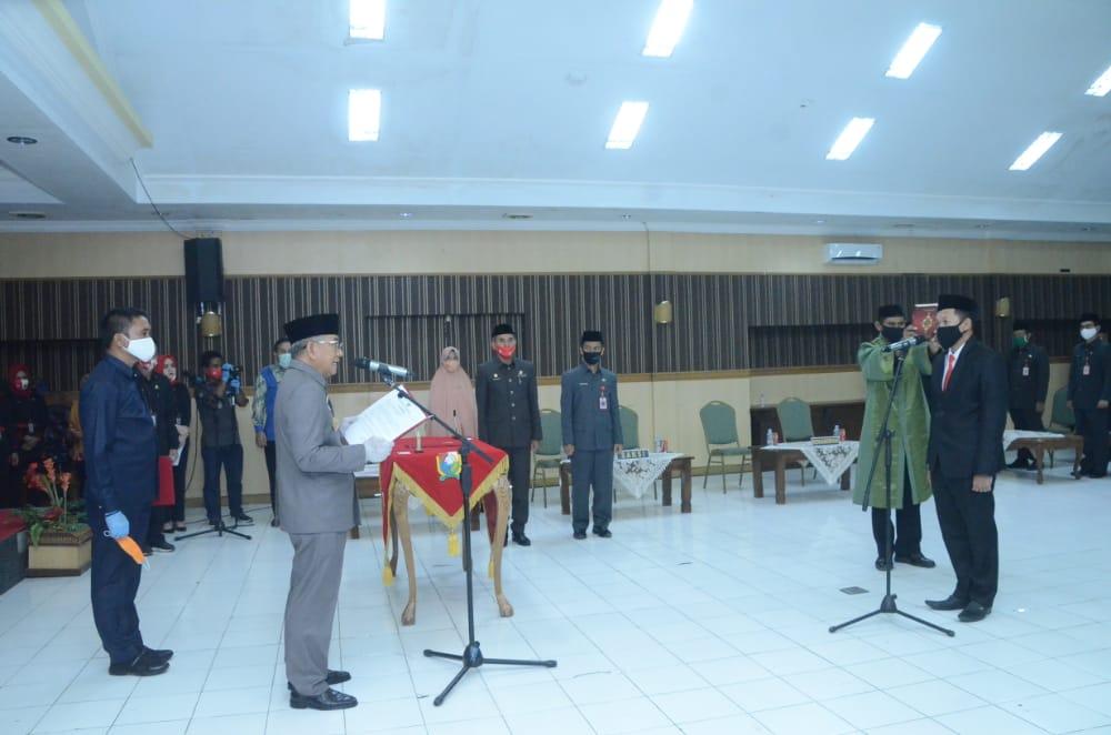 Gubernur Sulbar Lantik Masriadi Sebagai Pj.Sekda Majene