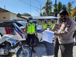158 Kendaraan Dinas Polres Majene Jadi Target Operasi Tim Irwasda