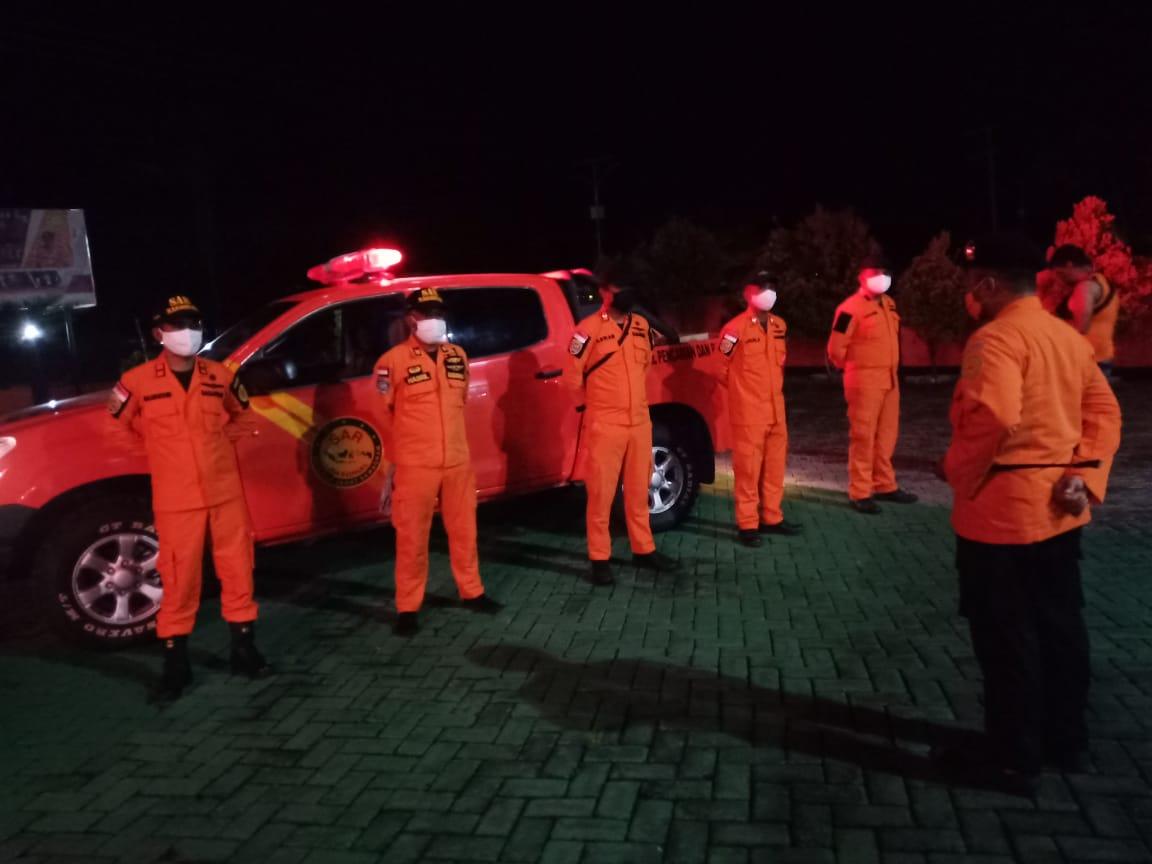 Banjir Kec.Bonehau, Basarnas Mamuju Terjunkan Personil Bantu Evakuasi