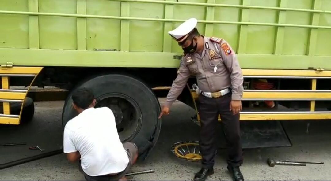Unit Laka Polres Polman Beri Himbauan