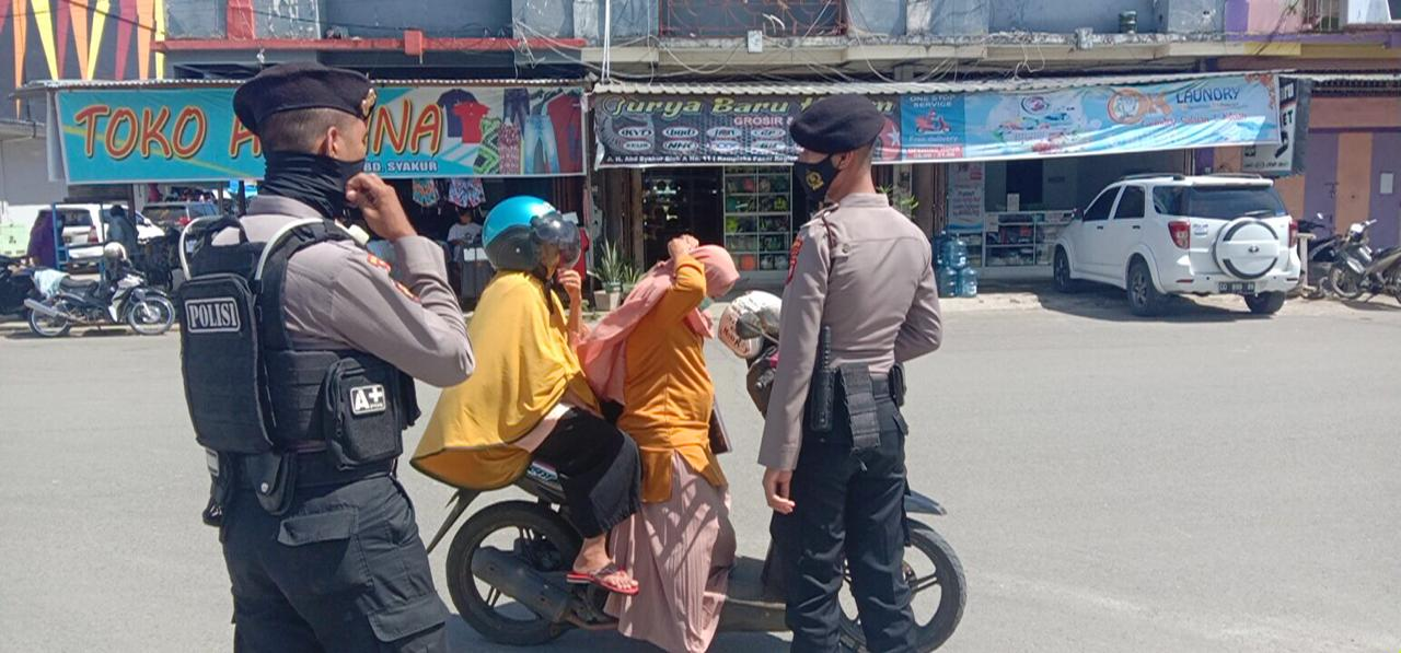 37 Warga Tak Pakai Masker Terjaring Razia Operasi Yustisi Aparat Gabungan