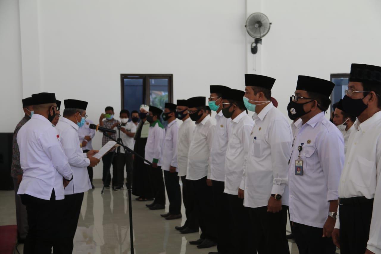 Gubernur Sulbar Kukuhkan Pengurus DMI Polman
