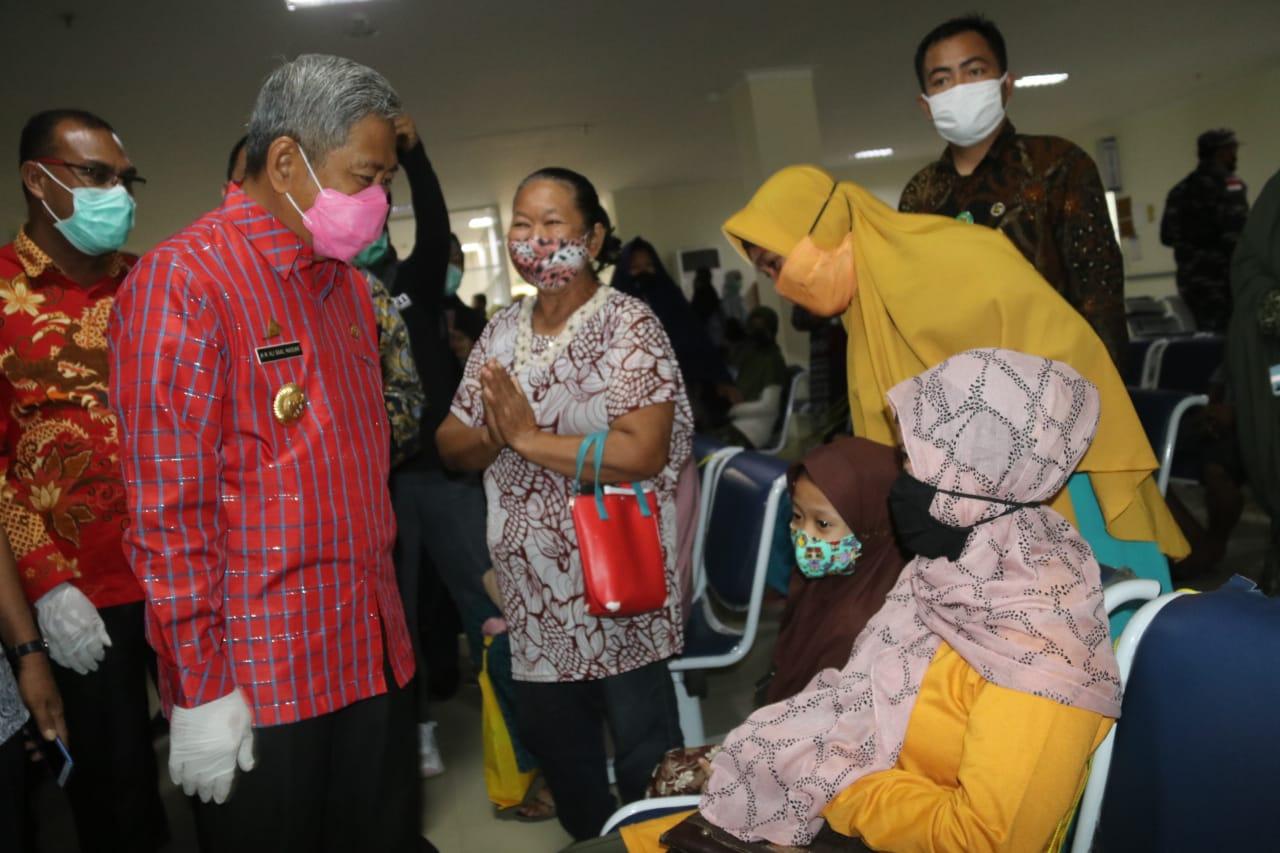 Gubernur Sulbar, Kepala BP2MI Pantau Kesiapan Sarana Tanjung Silopo