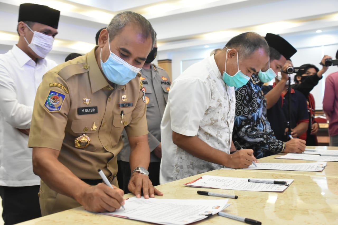 Natsir : Pastikan Tahapan Pilkada Disertai Protokol Kesehatan