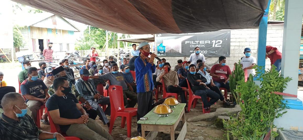 Warga Desa Bonda,Tagih Janji Bupati