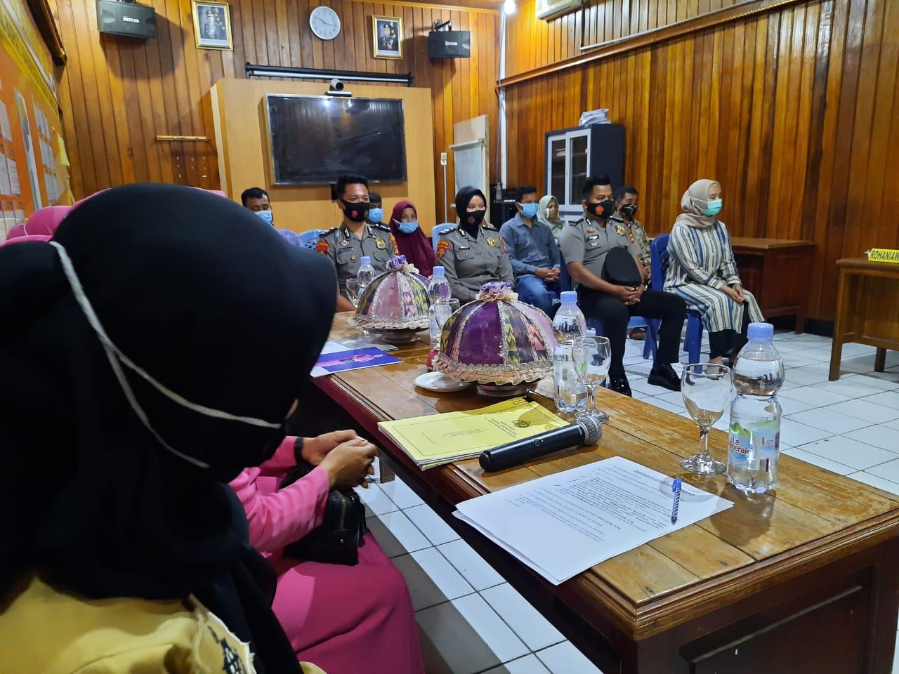 Sidang BP4R Polres Majene, Briptu Wiwin dan Ma'ruf Siap Lepas Masa Lajang