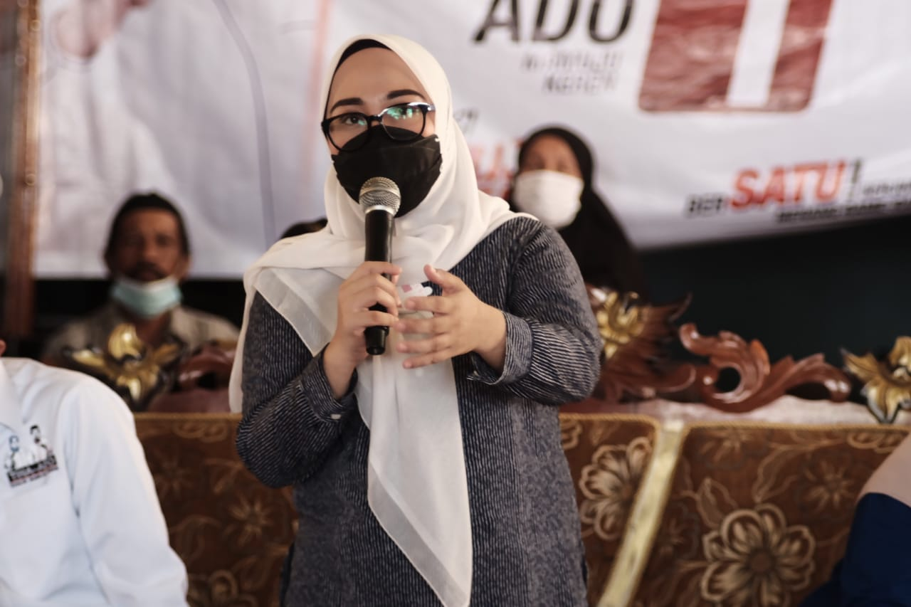 Tina Paparkan Program Unggulan di Kampanye Terbatas Kecamatan Papalang