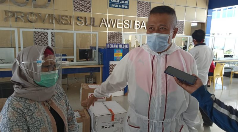 Annar Salahuddin Sampetoding, Bantu Alkes RS Regional Sulbar