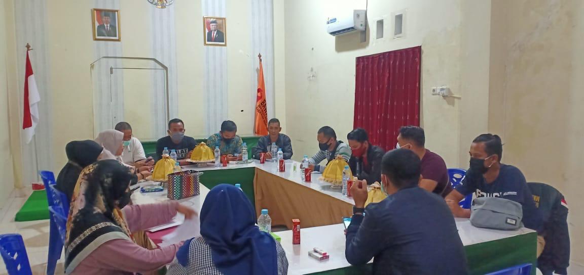Tim GAKKUMDU Kabupaten Mamuju Laksanakan Rapat Kordinasi