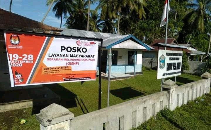 KPU Mamuju Siapkan Pos Pelayanan Gerakan Melindungi Hak Pilih