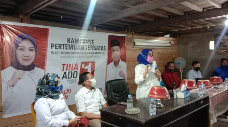 Kampanye Perdana Sutinah Jawab Keluhan Masyarakat Kecamatan Sampaga