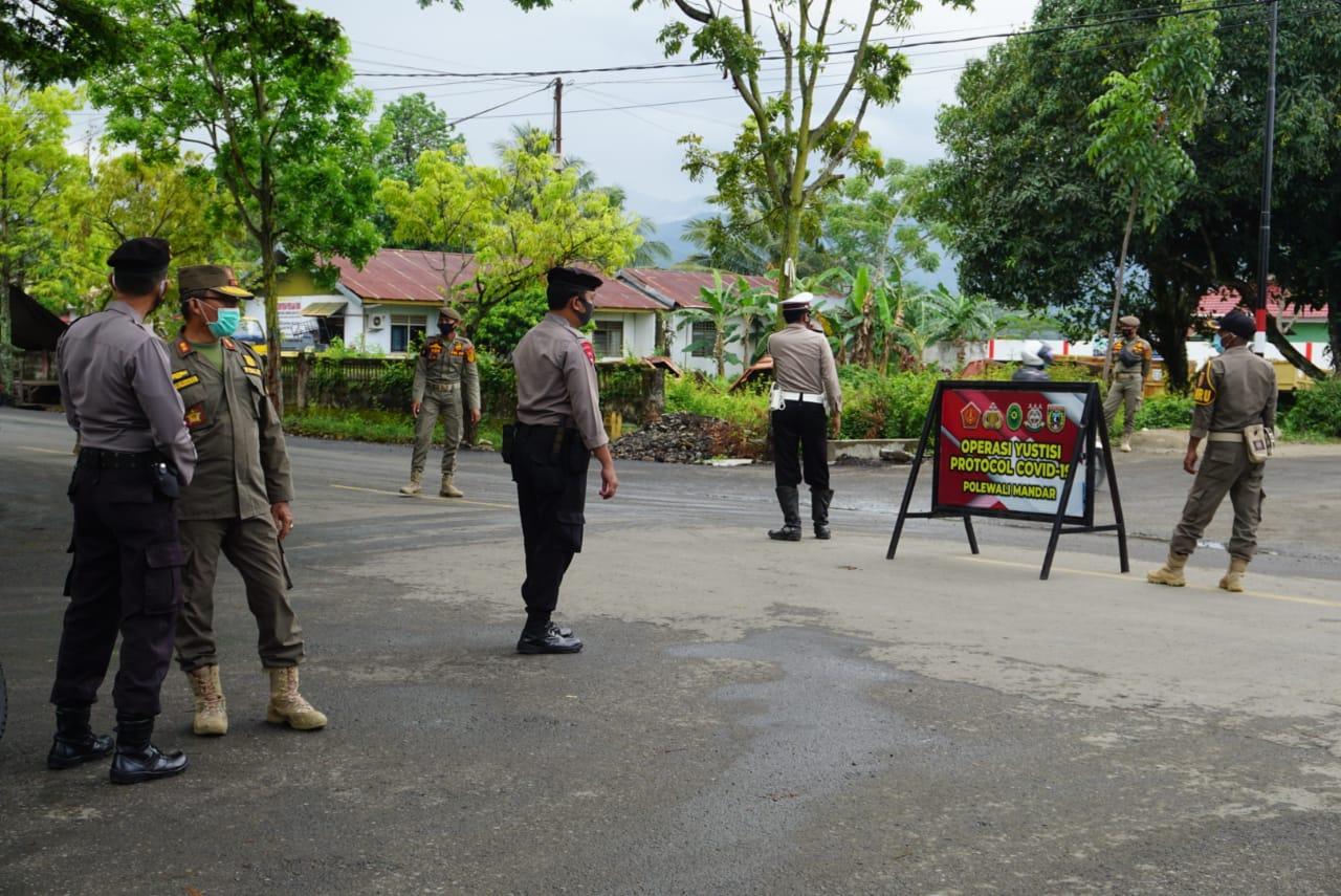 Polres Polman Gencarkan Operasi Yustisi