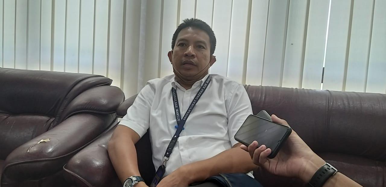 Inspektorat Dalami dugaan Penyelewengan Aset Milik Pemkab Mamuju