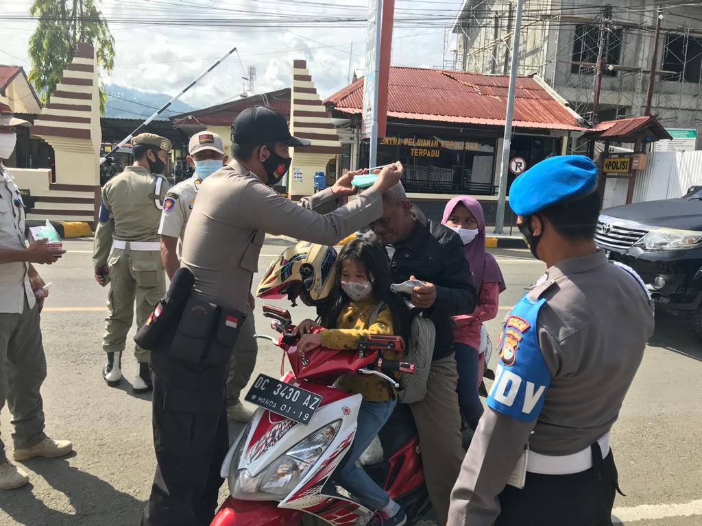 Polresta Mamuju Gencarkan Operasi Yustisi