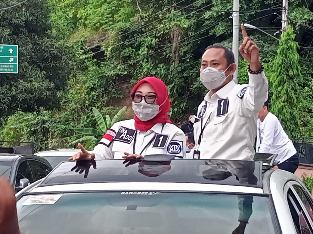 Tina-Ado Dipastikan Raih 80 Persen Kemenangan di Desa Pamulukan