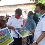 SDK Bersama KKP Salurkan Bantuan 9 Ton Bibit Rumput Laut