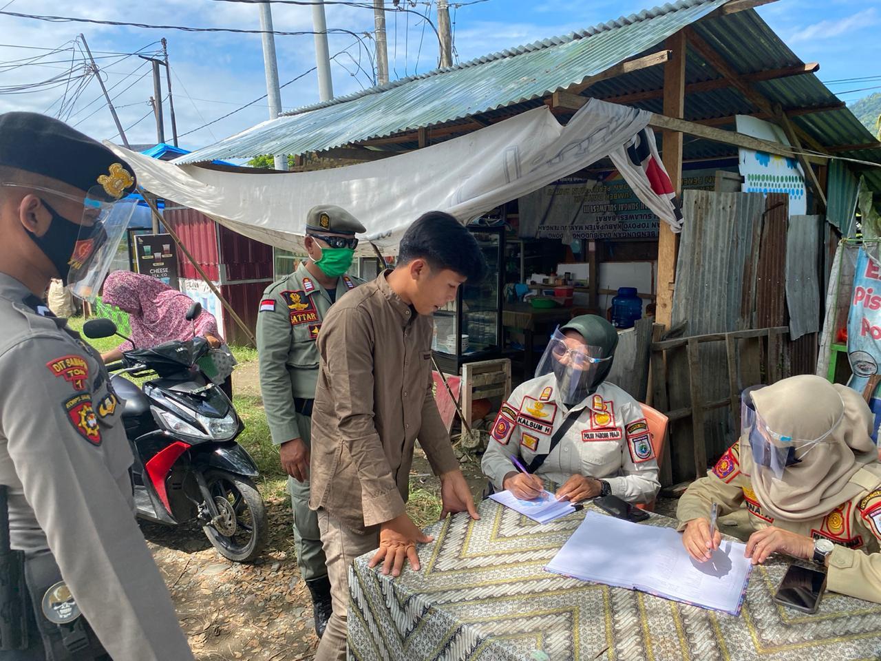 Operasi Yustisi, Polda Sulbar Cari Pelanggar Prokes