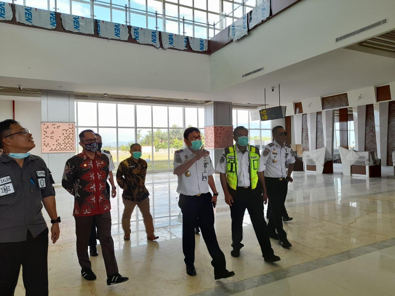 Terminal Baru Bandara Tampa Padang Target Beroperasi Oktober 2021