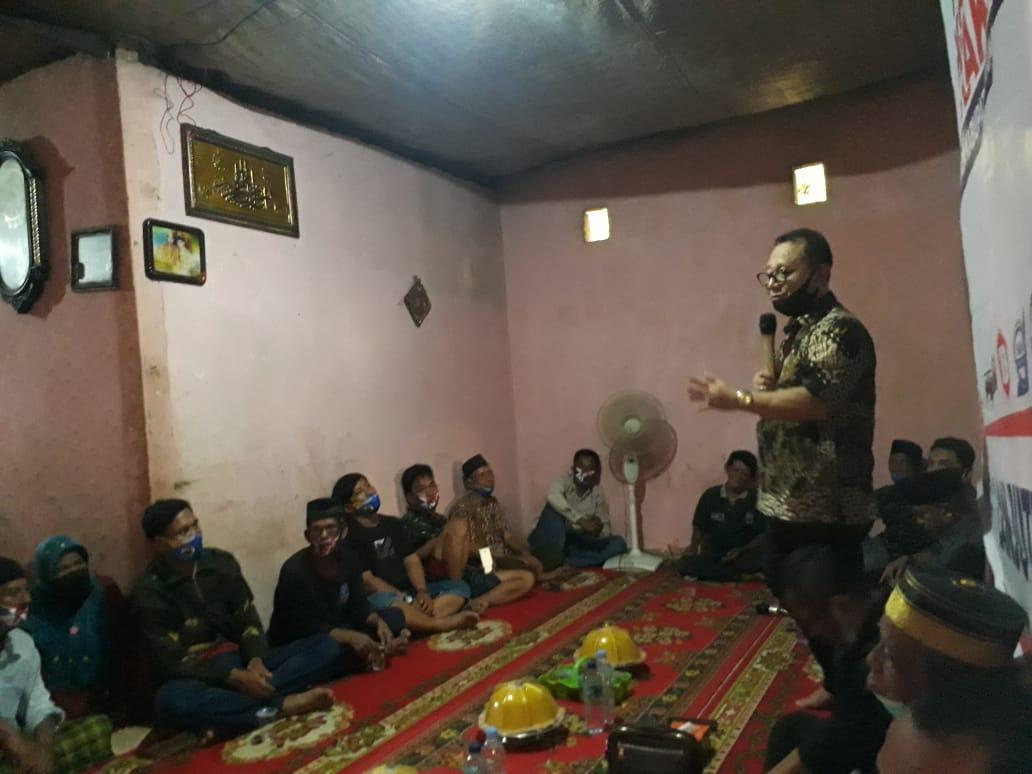Habsi Wahid Paparkan Visi-Misi Ketimpangan Pembangunan Desa