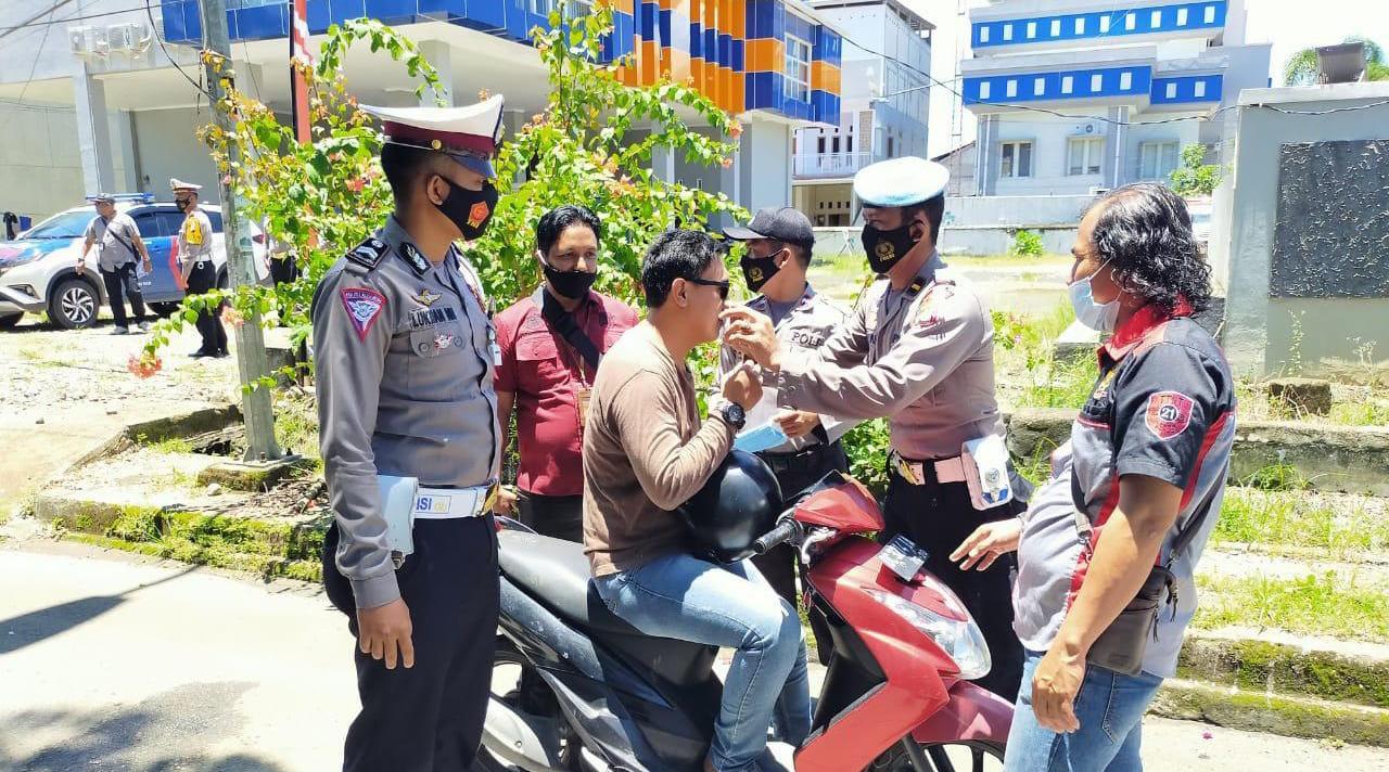 Polresta Mamuju Gencar Lakukan Operasi Yustisi