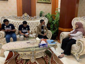 Perbasi Sulbar Silaturahmi Dengan Ketua DPRD