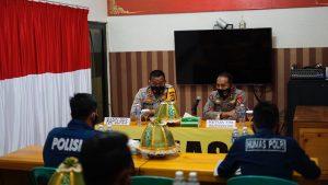 Tim Supervisi Bid Humas Polda Sulbar Sambangi Polres Mamasa