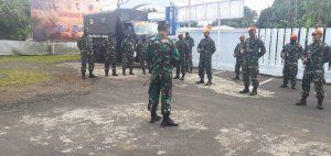 Komandan Pangkalan TNI AU Sam Ratulangi Terima Regu Satgas Pam Aset AU