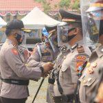 Kapolres Mamuju Tengah Pimpin Sertijab Kabag Ops dan Kasat Reskrim