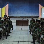 Pangkalan TNI AU Sam Ratulangi Laksanakan Jam Komandan