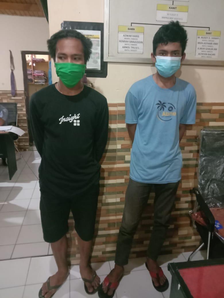2 Pemuda  Diringkus Team Python Polresta Mamuju