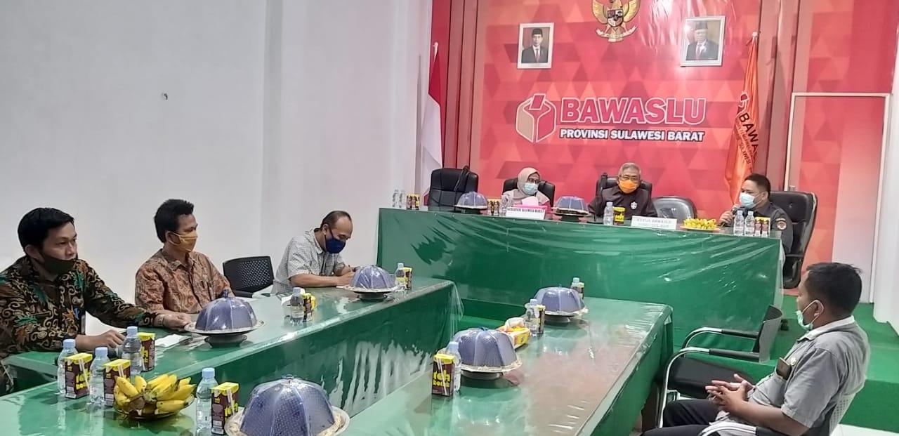 Ali Baal Sambangi Bawaslu Sulbar