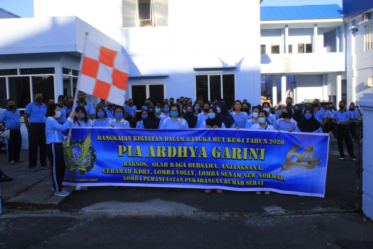 Pangkalan TNI Angkatan Udara Sam Ratulangi Semarakkan HUT PIA AG ke-64