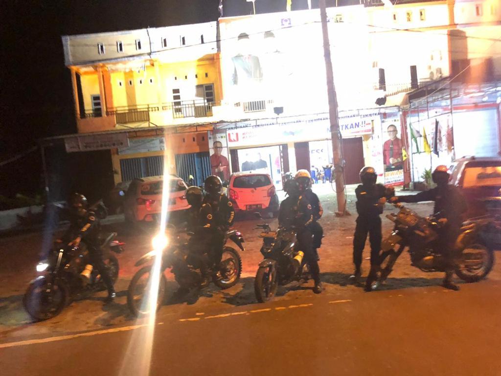 Satuan Shabara Polresta Mamuju Patroli Dialogis