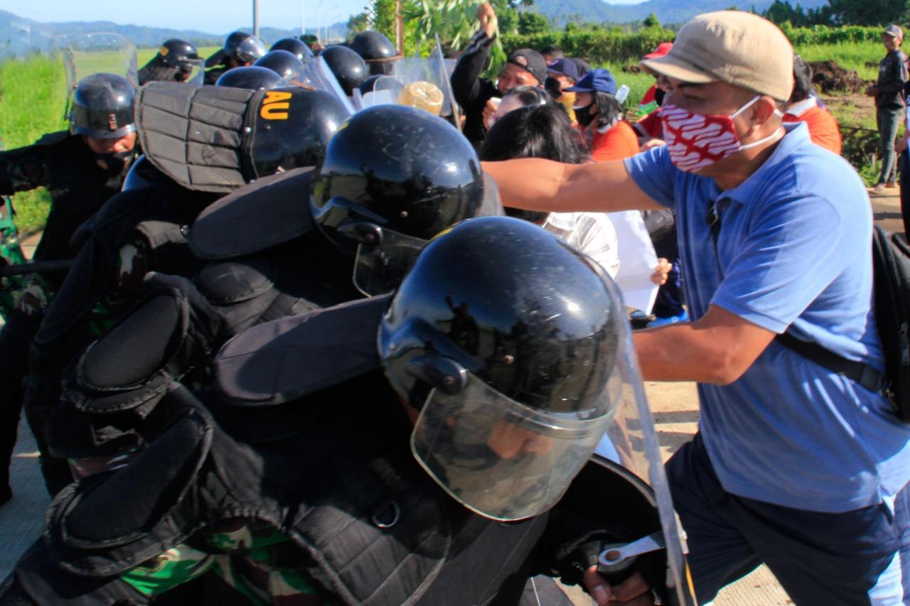 Penanggulangan Huru Hara di Pangkalan TNI AU Sam Ratulangi