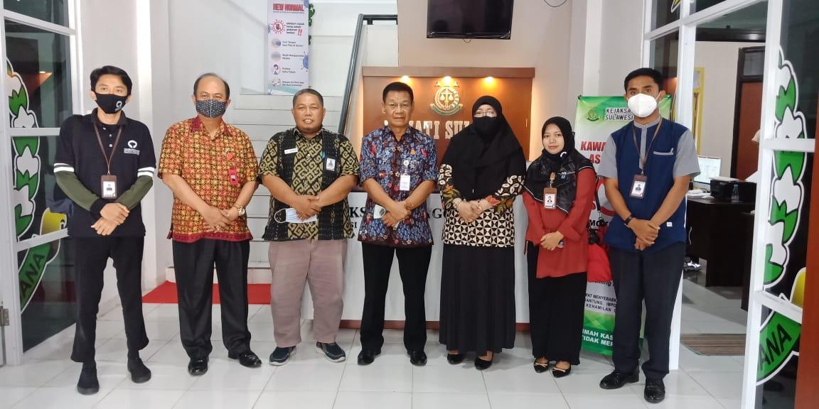 Perkuat Hubungan Kelembagaan, Ombudsman Silaturahmi ke Kejati Sulbar