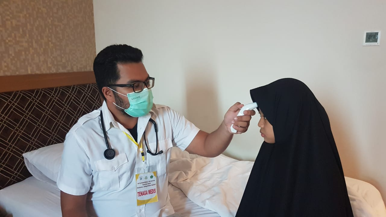 Tim Medis Pastikan Kafilah Sulbar Sehat Selama MTQ