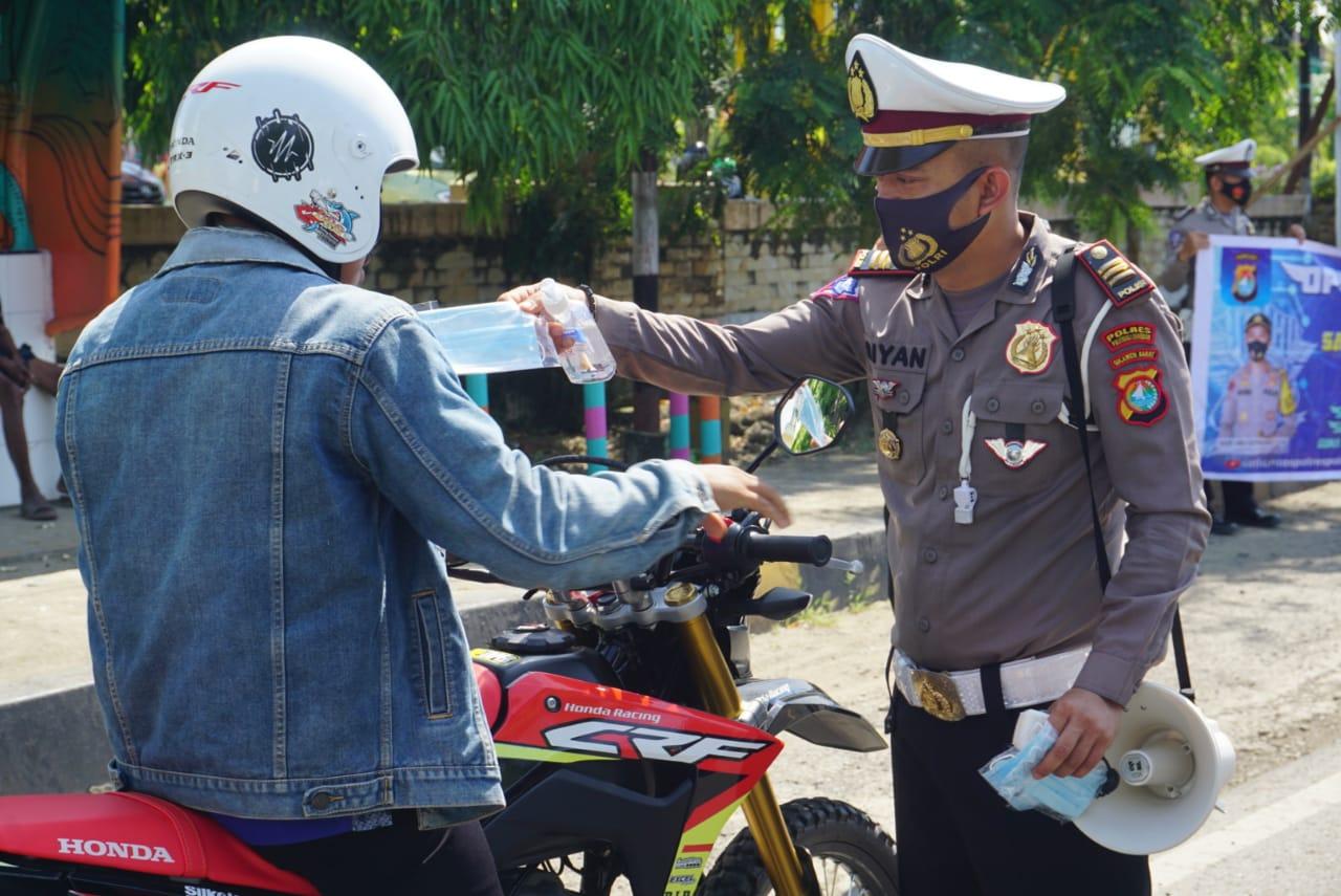 Kedepankan Imbauan Operasi Zebra Di Kabupaten Polman Tanpa Tilang