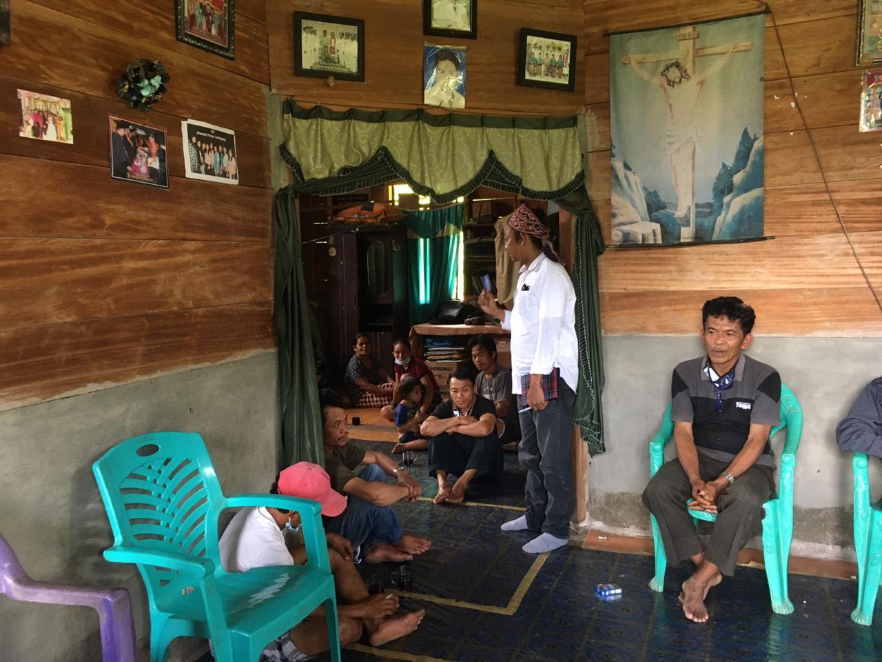 Safari kampanye Terbatas Paslon Sitti Sutinah Suhardi -Ado Mas'ud