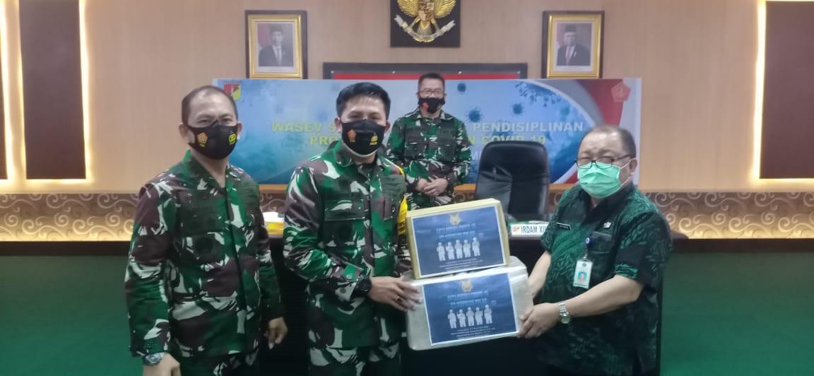 Aksi Peduli Covid-19 K3 Mapalus TNI AU