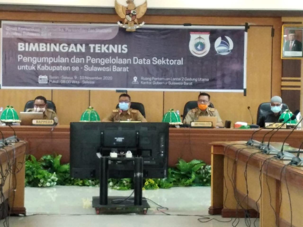Muh Idris DP : Butuh Komitmen Pimpinan OPD Dalam Pengelolaan Data