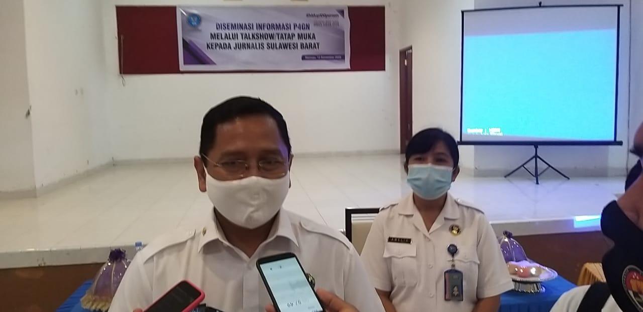 BNNP Sulbar Terapkan Protokol Kesehatan Ditiap Kegiatan
