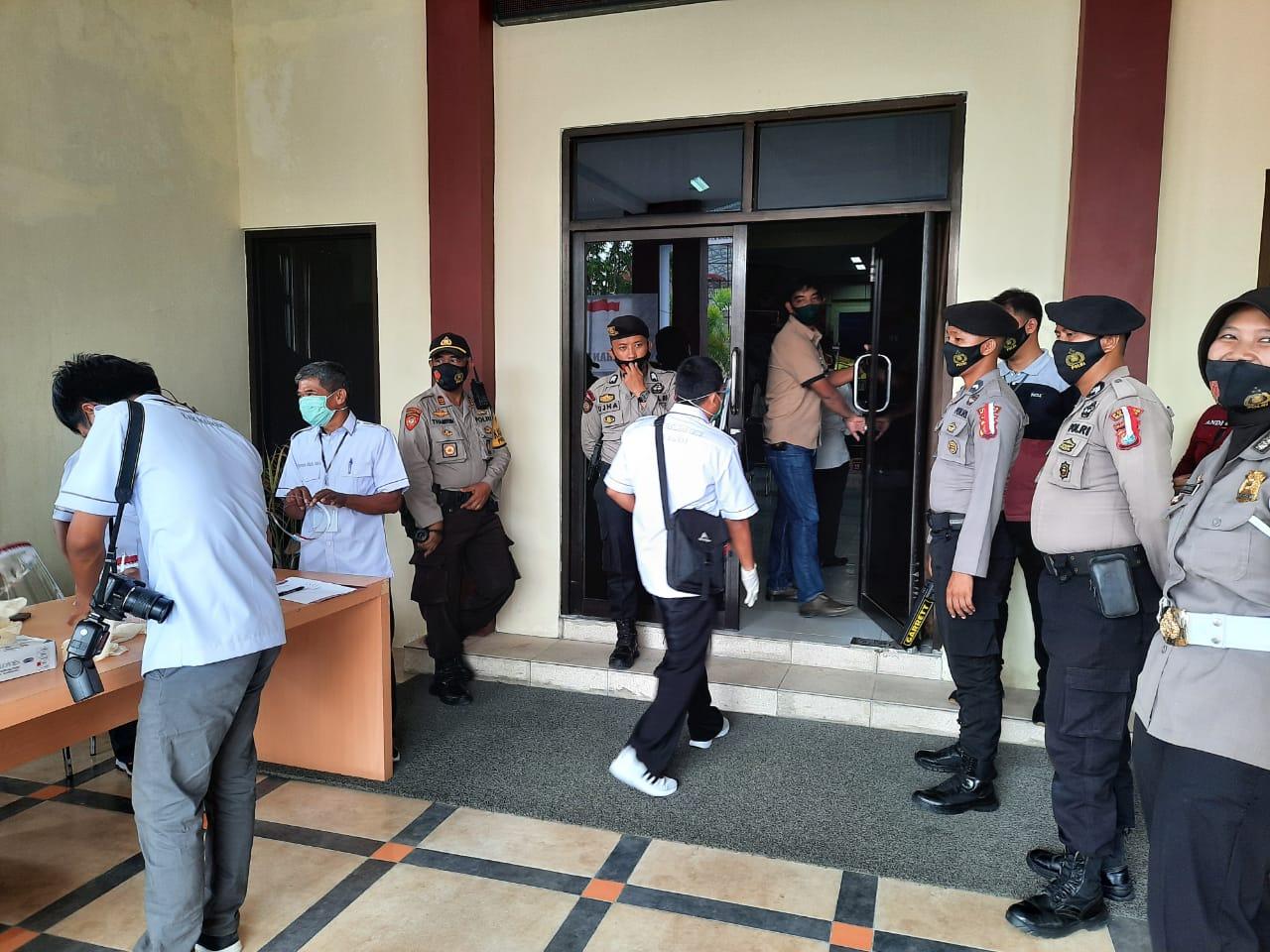 Kapolres Majene Pastikan Pengamanan Debat Publik Aman Terkendali